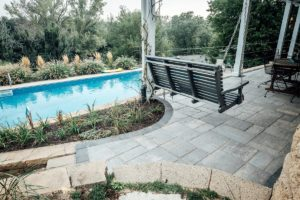 Paver patio perfect for outdoor living