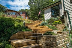 Landscape care and retaining walls