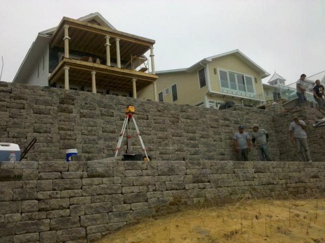 expert installation techniques for retaining wall