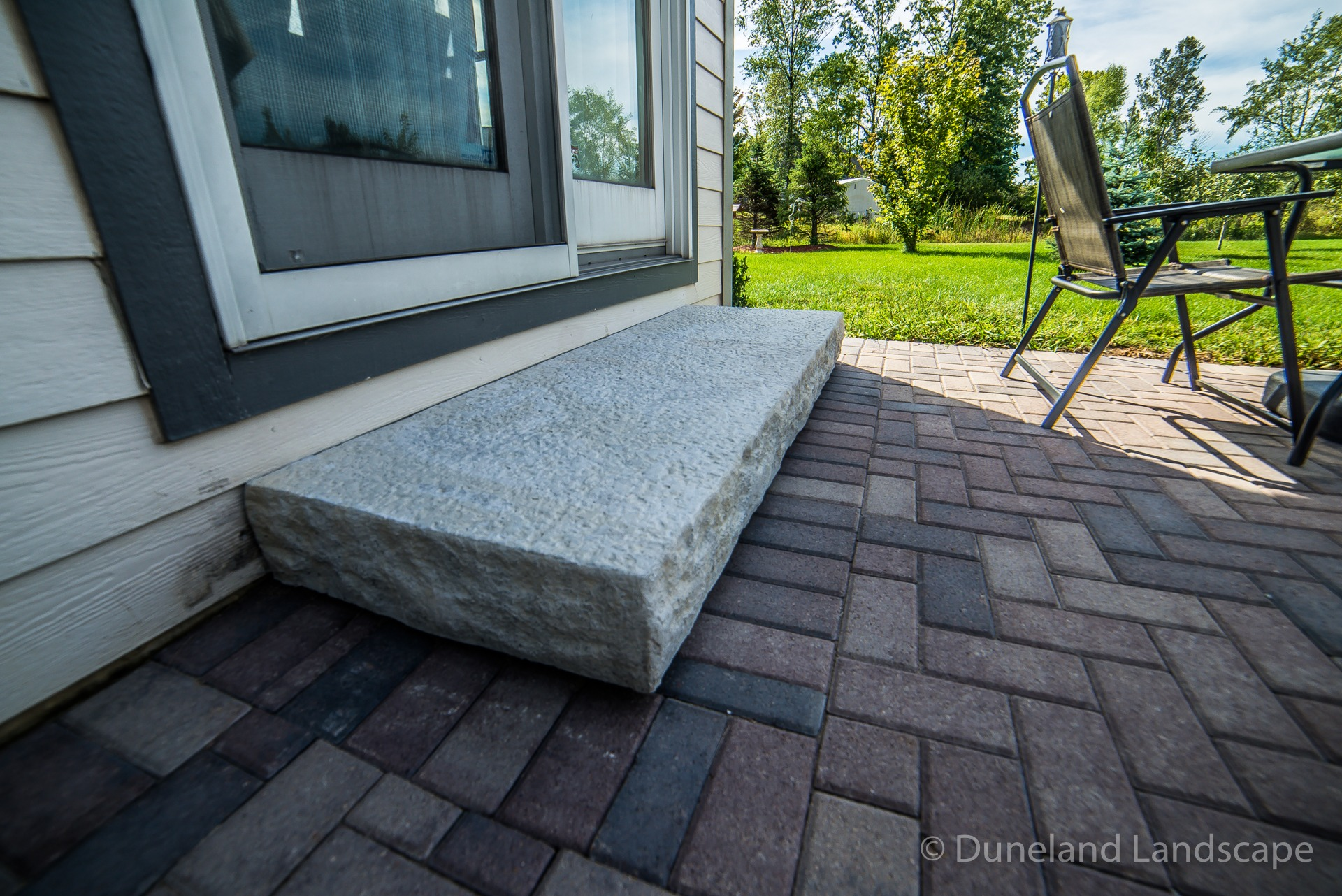 Hardscape stones for outdoor patio