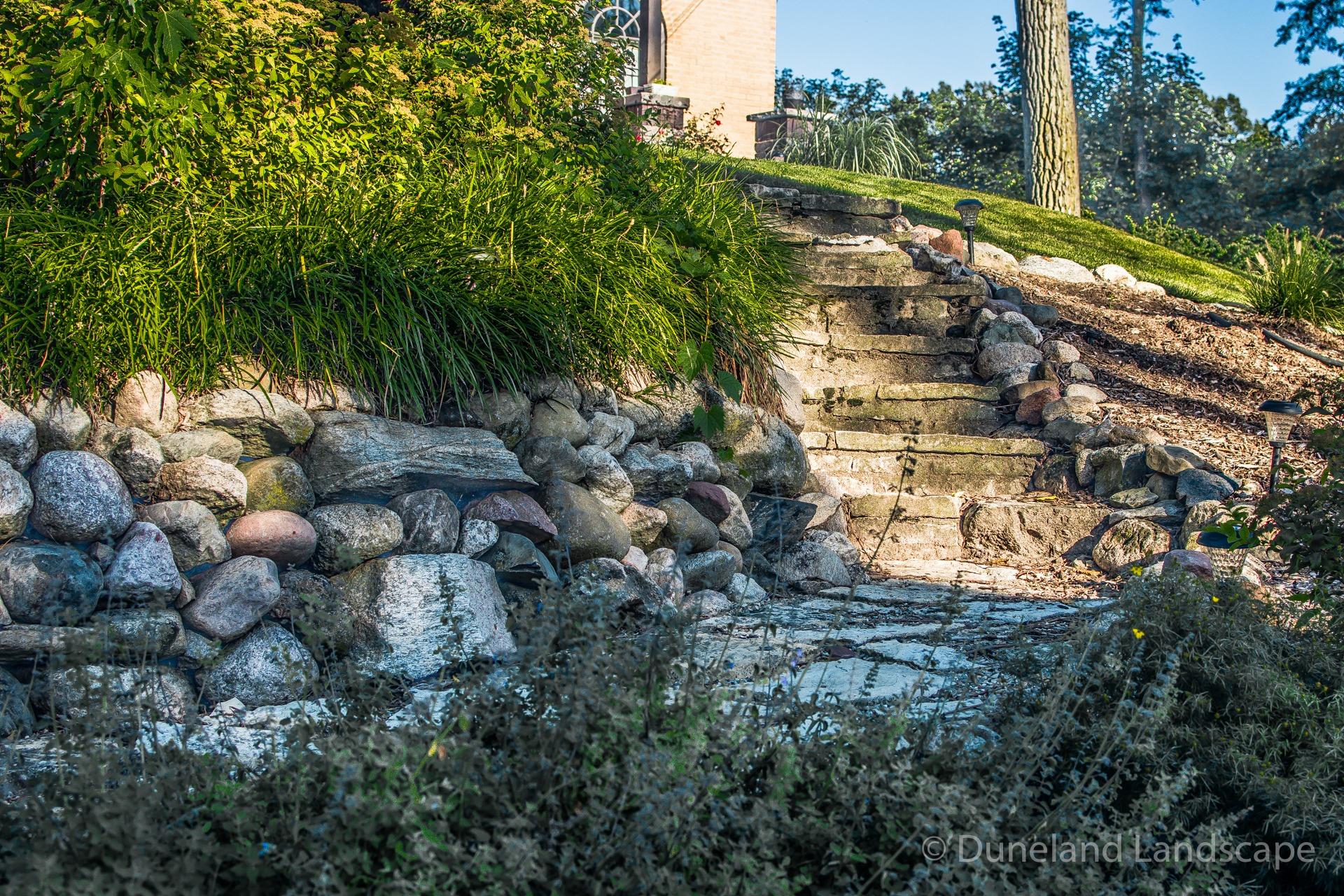 rocks in landscape design