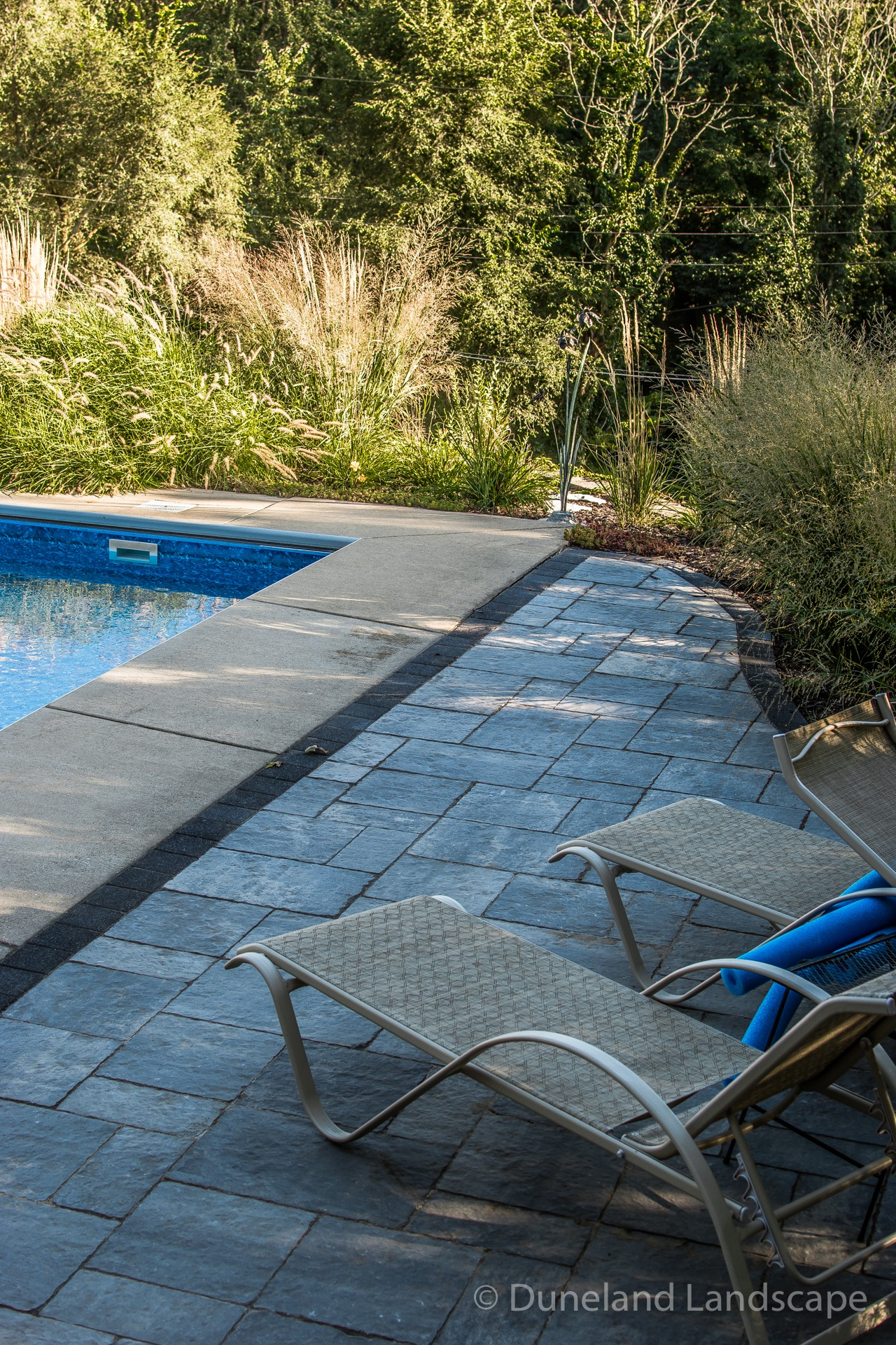 pool deck hardscaping