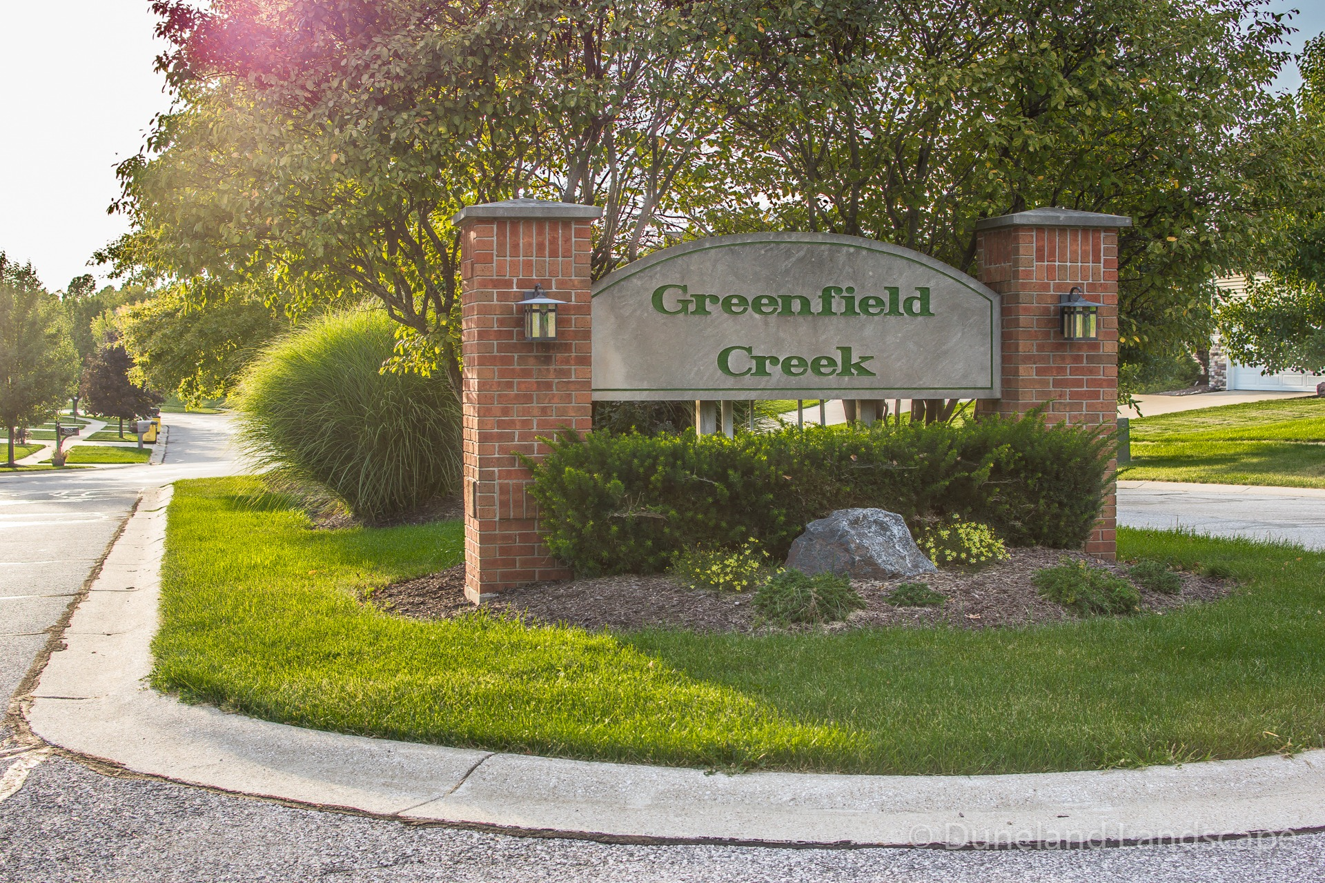 residential community lawn maintenance