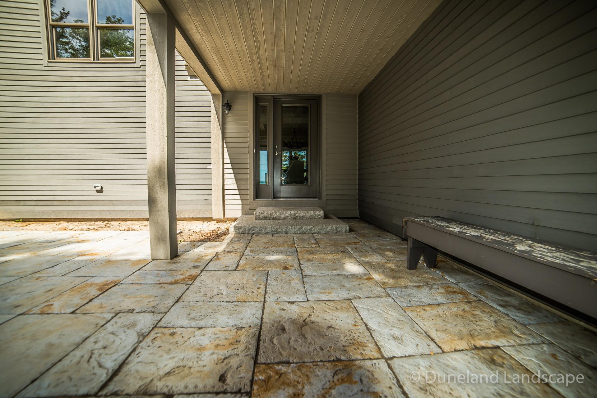 hardscape ideas for patio