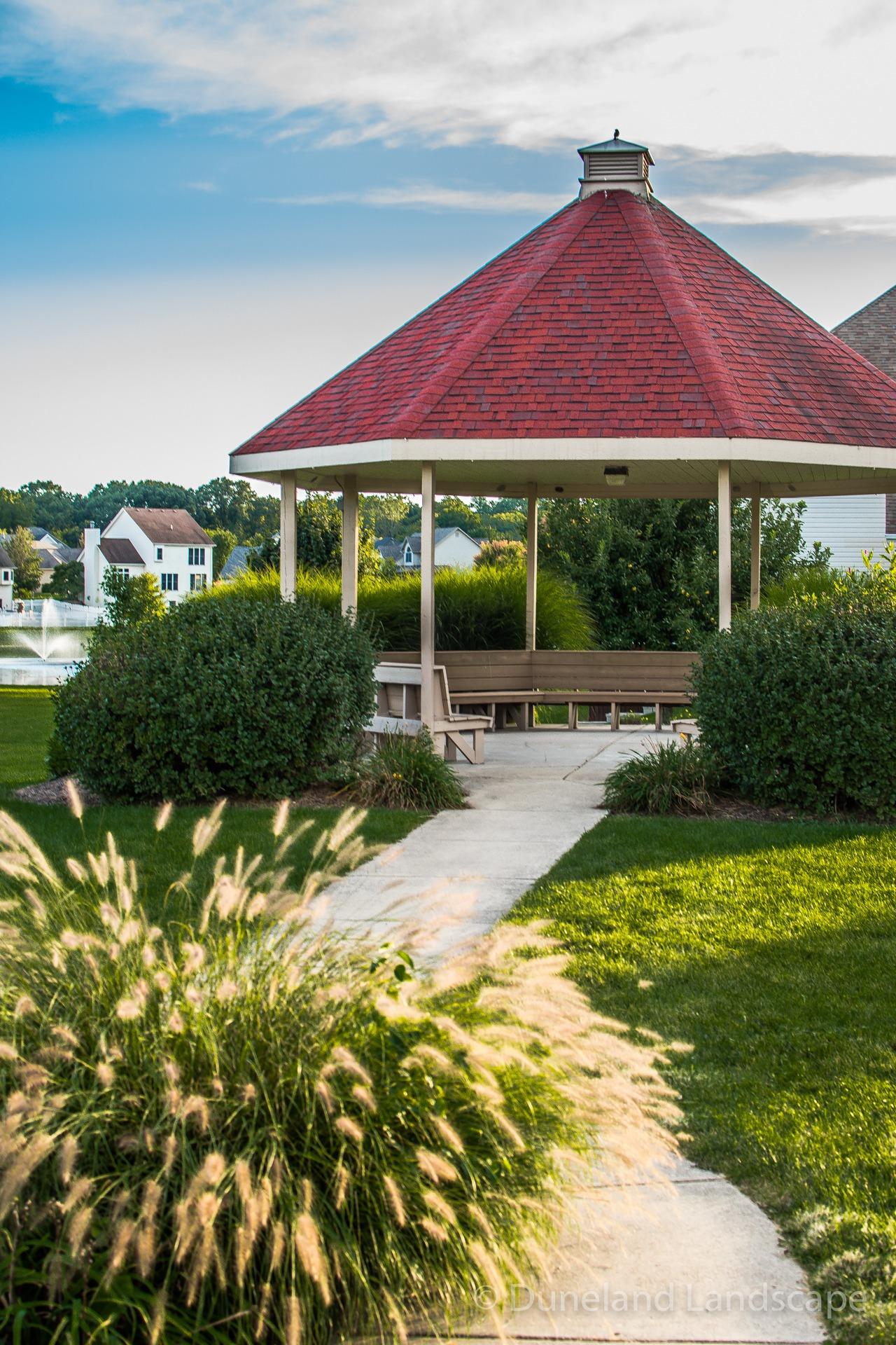 Landscaping design for local park