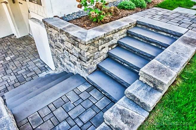 how to use bricks in landscape design