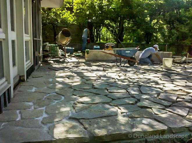 Backyard project installation