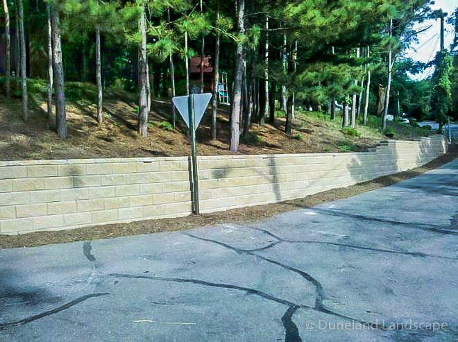 Wall installation in Indiana