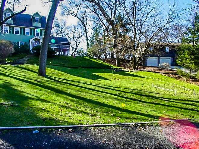 yard maintenance provided by Duneland Landscaping