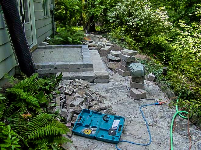 patio paver design ideas for Indiana homes