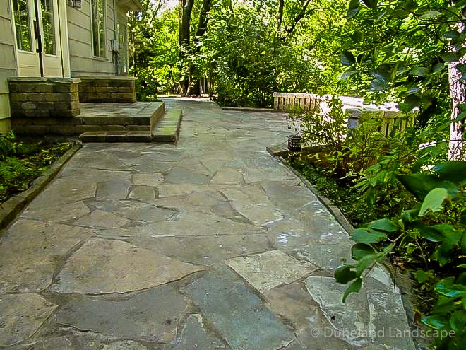 types of stones used for walkways