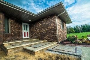 Brick landscape installation and maintenance