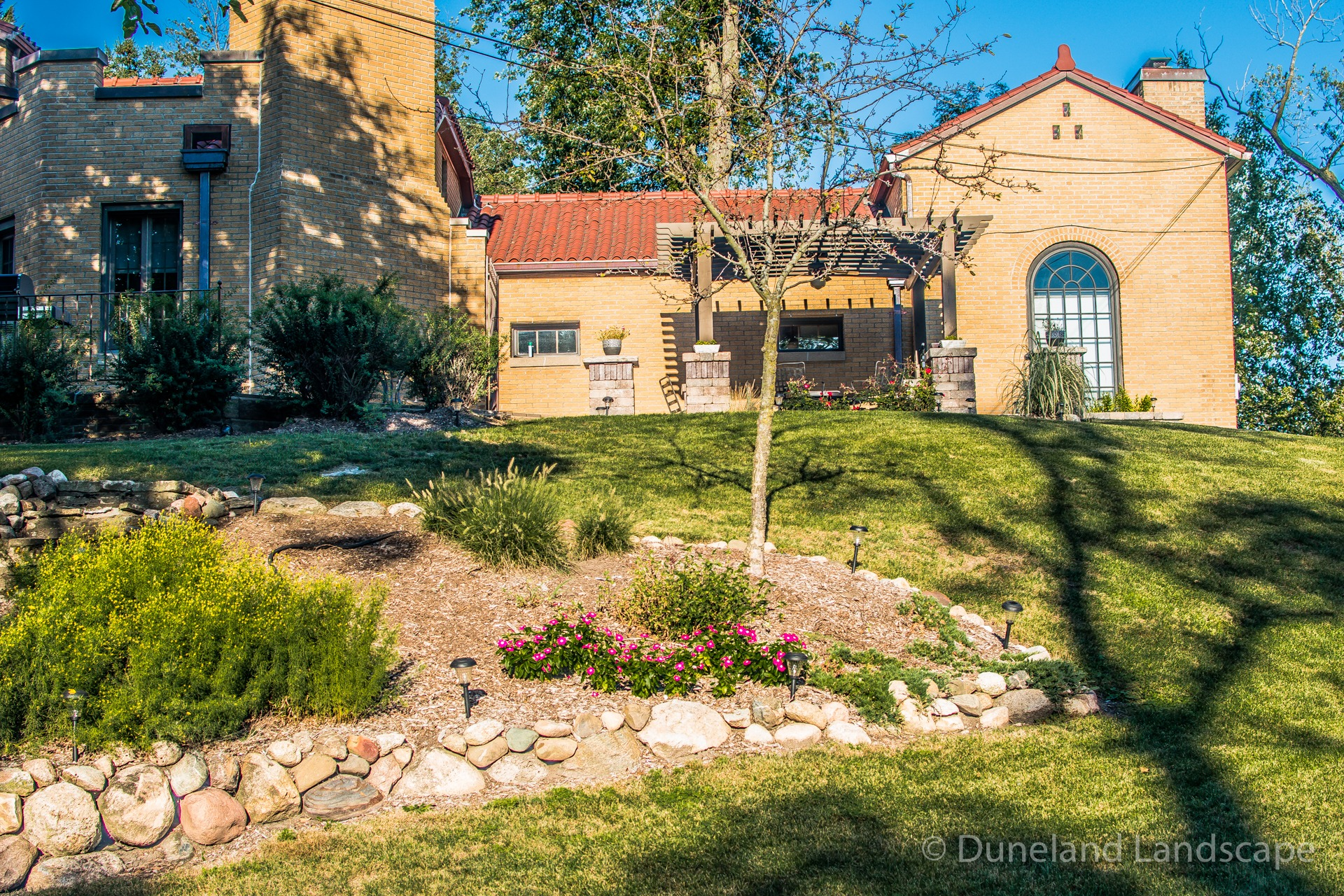 custom landscaping in Ogden Dunes