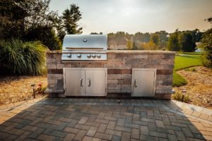 built in grill for outdoor living